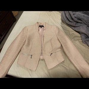 H&M Pink Structured Blazer